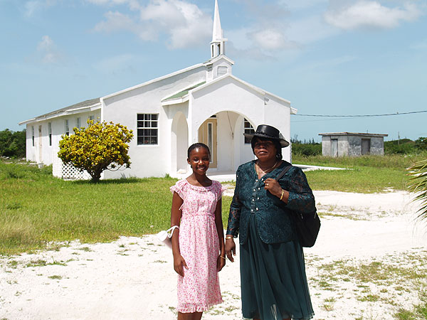 Church on Middle Caicos