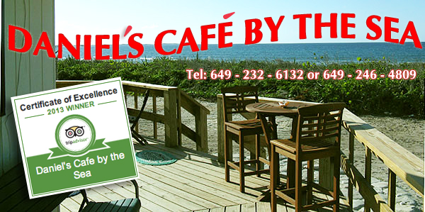 Daniels Cafe by the Sea, Conch Bar, Middle Caicos