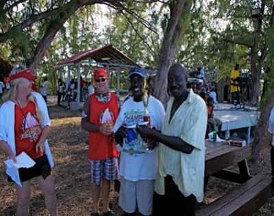 Middle Caicos : Valentines Day Cup Prize Ceremony 2014